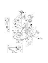 Craftsman Lt2000 Drive Belt Diagram by Craftsman Lt 2000 Parts Manual Pictures To Pin On Pinterest