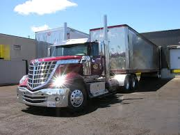 New International Truck Tractor Trailer, Lonestar Trucks | Trucks ...