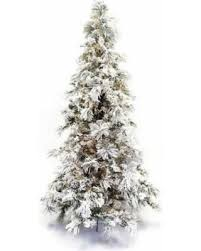 Flocking Christmas Tree Kit by Winter Sale Artificial 9 Foot Flocked Long Needle Pine Green
