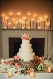 Minimalist Wedding Cake With Flower Topper
