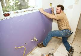 Hanging Drywall On Ceiling Or Walls First by How To Install A Dry Wall At The Home Depot