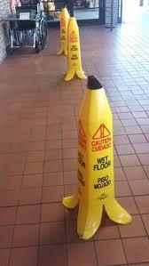 Banana Wet Floor Sign by Hawaiian Wet Floor Sign Pets Funny Pinterest Wet Floor Signs