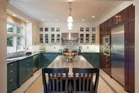Design Trend Blue Kitchen Cabinets 30 Ideas To Get You Started Teal White Sebring Services 22 Cabine