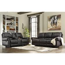 Ergonomically Correct Living Room Furniture by Signature Design By Ashley Milhaven Reclining Living Room Group