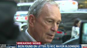 Threatening letters to Bloomberg test positive for ricin CNN