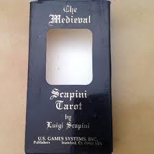 Antiguo Mazo Cartas Tarot Medieval Scapini Incompleto Suiza 65000