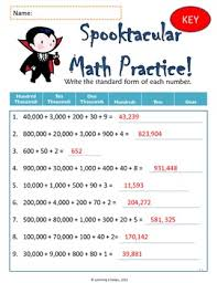 Halloween Multiplication Worksheets 3rd Grade by Spooktacular Math 3rd And 4th Grade Halloween Worksheets By