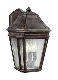 ol11301wct 3 light outdoor sconce weathered chestnut