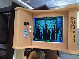 Mame Arcade Bartop Cabinet Plans by Emulator Arcade Cabinet Plans Mf Cabinets