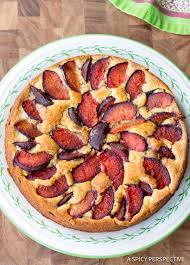 Fresh Plum Cake Recipe