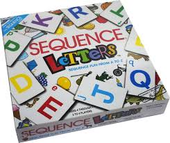 Kiditos Sequence Letter Board Game For Kids