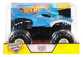 Hot Wheels® Monster Jam™ Shark - Shop Hot Wheels Cars, Trucks & Race ... Hot Wheels Monster Jam Mega Air Jumper Assorted Target Australia Maxd Multi Color Chv22dxb06 Dashnjess Diecast Toy 1 64 Batman Batmobile Truck Inferno 124 Diecast Vehicle Shop Cars Trucks Amazoncom Mutt Dalmatian Toys For Kids Travel Treds Styles May Vary Walmartcom Monster Energy Escalade Body Custom 164 Giant Grave Digger Mattel