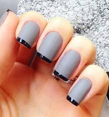 35 Gray Nail Art Designs