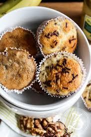 wundervoll variable bananen muffins saftig und ganz