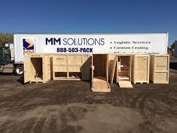 100 Mm Design Custom Crating MM Solutions Toll Free 8885037225