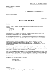 Notice Of Intent To Sue Letter Breach Contract Example Form Texas