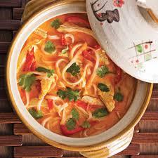 cuisine au lait de coco soupe repas épicée au poulet et lait de coco recettes cuisine et