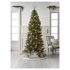 75ft Pre Lit Artificial Christmas Tree Slim Virginia Pine