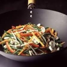 cuisiner avec un wok recette légumes sautés au wok