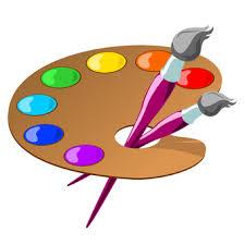 Artist Palette Free Clipart 1
