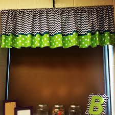 Fabric For Curtains Cheap by Chevron And Polka Dot Curtains For My Classroom Used The Extra