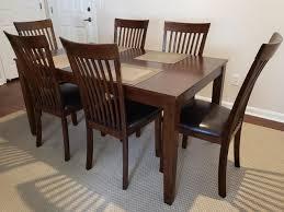 Ashley - Mallenton (D411-425) Casual 7pc. Dining Table Set