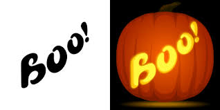 Peter Pan Pumpkin Stencils Free by Boo Pumpkin Carving Stencil Free Pdf Pattern To Download And