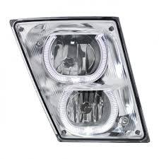 100 Volvo Trucks Parts Fog LED Light Headlight For BIG Machine