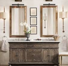 Restoration Hardware Bathroom Vanities by Printmakers Double Vanity Sink Restoration Hardware Baño