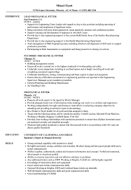 Download Mechanical Fitter Resume Sample As Image File