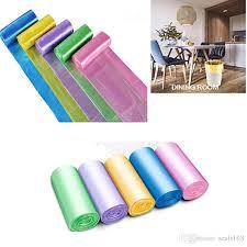 großhandel 45 50 cm kleine müllsack müllsäcke für bad mülleimer liner für schlafzimmer home küche 7 farbe 5 rollen set machen fba hh7 461