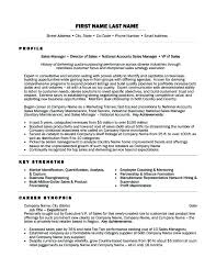 Regional Sales Director Resume Examples It Manager Of Resumes Awesome Sample