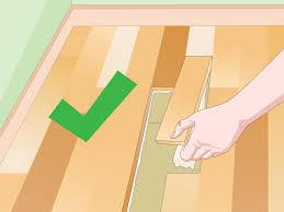 Floor Muffler Vs Cork Underlayment by 3 Ways To Reduce Floor Noise Wikihow