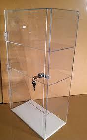 Acrylic Display Case 12 X 7 225 CounterTop Different Shelf Spacing