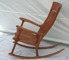 Wayfair Rocking Chair Uk by Oak Rocking Chairs Antique L J G Mission Style Oak Rocking Chair