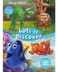 Disney Pixar Lots To Discover Jumbo Coloring Book