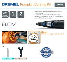 Pumpkin Carving With Dremel by Dremel 7000 Series 6 Volt Alkaline 2 Speed Cordless Rotary Tool