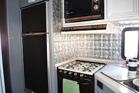 RV Motorhome Kitchen Remodel
