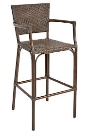 Synthetic Wicker Outdoor Bar Stools Bar & Restaurant Furniture