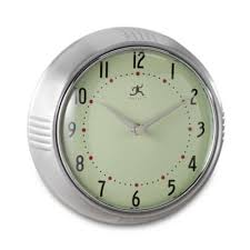 buy home decor metal wall clock from bed bath beyond