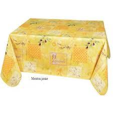 nappe toile ciree au metre toile cirée au mètre motif menton jaune toile cirre au métre toile