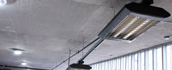 Ceiling Material For Garage by Infrared Heaters Melt Away Safety Concerns For Parking Garage