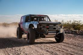 100 Racing Trucks Ford Bronco Revealed In Baja 1000 Race Truck Form Roadshow