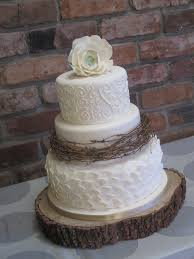Inspiration For The Top Layers Of Pipers Wedding Cake Include Silver Ribbon Vegan CakesRustic