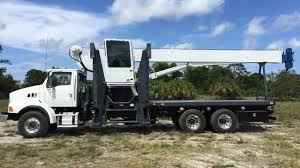 2008 Sterling Manitex 30102 30 Ton 102SX Crane Boom Truck For Sale ...