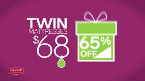 Furniture & ApplianceMart 72 Hour Black Friday Weekend Mattress