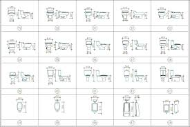 Bathroom Cad Blocks Plan by Toilet U0026 Bathroom Cad Set Free Cad Blocks U0026 Drawings Download Center