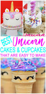 MAGICAL Unicorn Birthday Cakes EASY Cupcakes