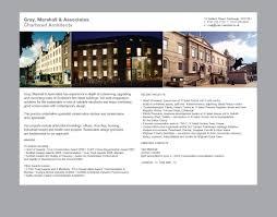 100 Stafford Architects Gray Marshall Associates