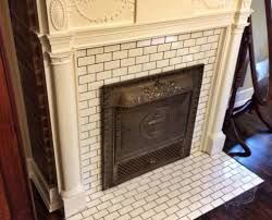 tiling the fireplace hearth and surround parkhurst house